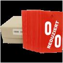 Kartonetiketten 60x116mm bedruckt