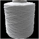 Gummifaden textilumsponnen auf der Spule