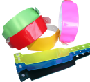 Kunststoffbänder ohne Bedruckung