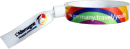 Stoffkontrollbänder individuell bedruckt mit Aluplombenverschluss zum verpressen mit der Zange als EXPRESSFERTIGUNG