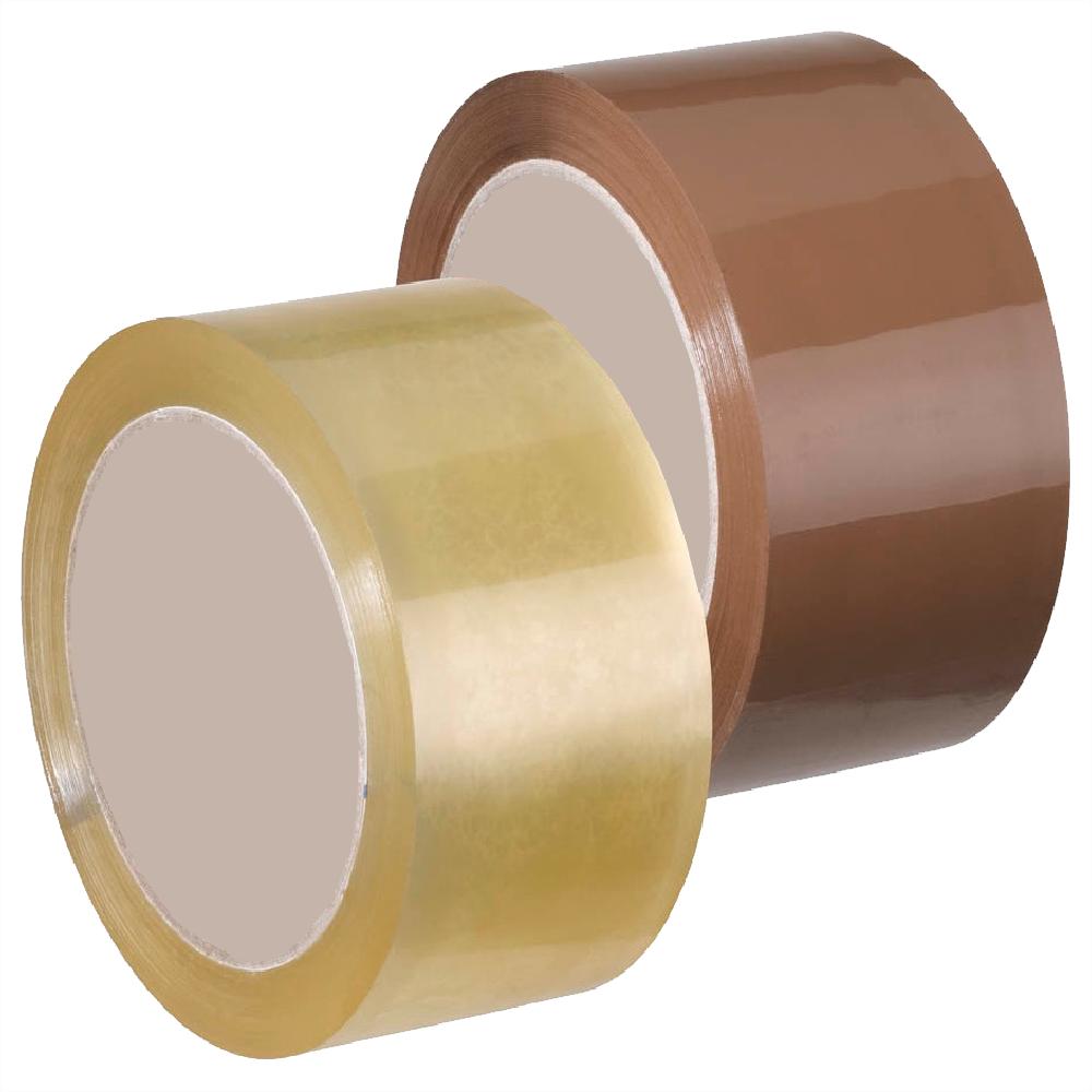 paketklebeband in braun oder transparent